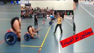 مواقف خطيره  للرياضيين في صالات الجيم |  مواقف طريفه ومجنونه