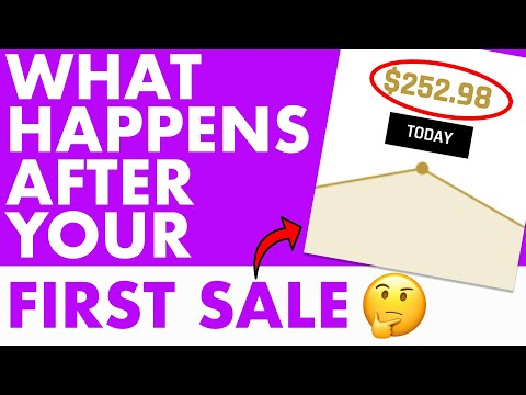What Happens After An Affiliate Marketer Makes Their First Sale Online thumbnail