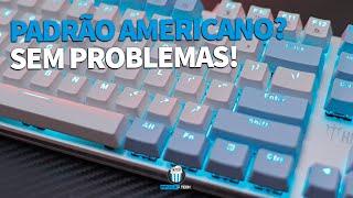 O ÚNICO VÍDEO QUE VOCÊ PRECISA VER PARA UTILIZAR TECLADOS NO PADRÃO AMERICANO (ANSI) CORRETAMENTE!