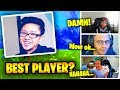 This Player Killed Ninja, Myth And Daequan! (INSANE PLAYS) | Fortnite Battle Royale