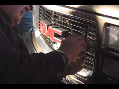 How To Repair a GMC Grill
