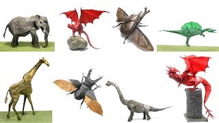 27 Spectacular Western-Style Origami Dragons | 180x320