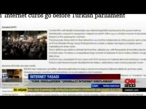 CNNTürk - Orwellian Internet Kanunu