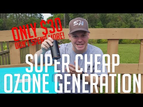 Ozone On A BUDGET For Bow Hunters - Deckey Air Purifier Portable Ozone Air Cleaner