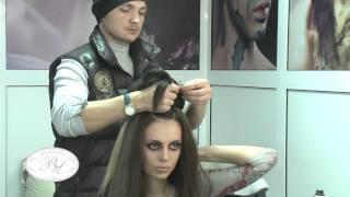 "Sergiu Bacioi, hairstylist ""Лучший стилист свадебной причёски"""