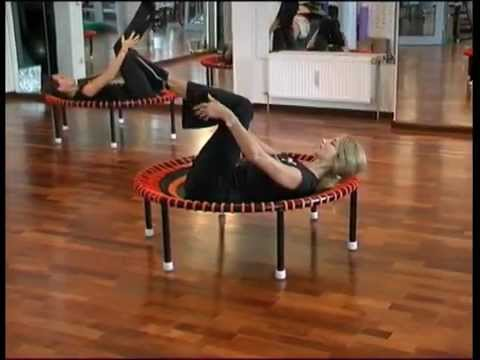 Pilates workout with the bellicon