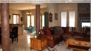 7 Bedroom Luxury Home with Guest House in Scottsdale 85266