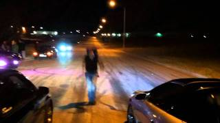 evo wrx sti vs front street queen ls1 camaro