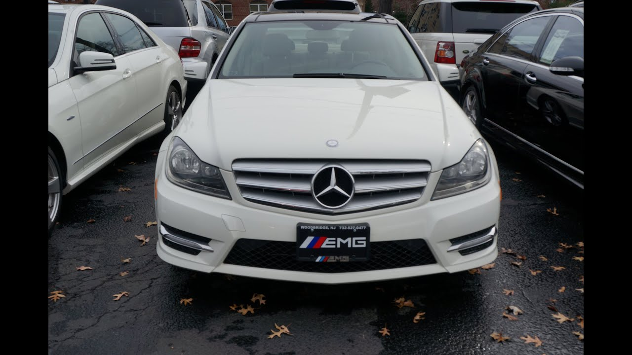 2012 mercedes benz c class c300 sport 4matic youtube for Mercedes benz c300 4matic 2012