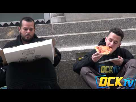 Asking Strangers For Food VS Asking The Homeless For Food! (Social Experiment)