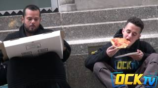 Asking Strangers For Food VS Asking The Homeless For Food! (Social Experiment) thumbnail