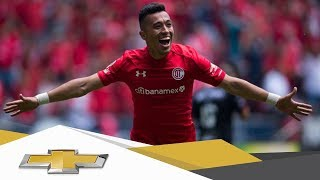 Resumen | Toluca 4 - 1 Xolos |  Clausura 2018 - Semifinal (Vuelta) | Presentado por Chevrolet thumbnail