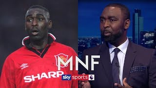 Man United legend Andy Cole explains why he signed for Man City | Monday Night Football Q&A