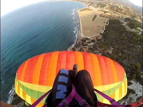 Paragliding  Cyprus Kayalar (Kıbrıs Yamaç Paraşütü)