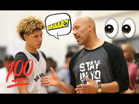 LaVar Ball YELLS At Lamelo Ball And His Big Baller AAU Team After Loss