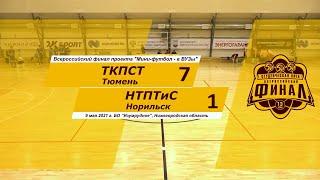 Обзор Мини футбол в Вузы Финал ТКПСТ НТПТиС 7_1