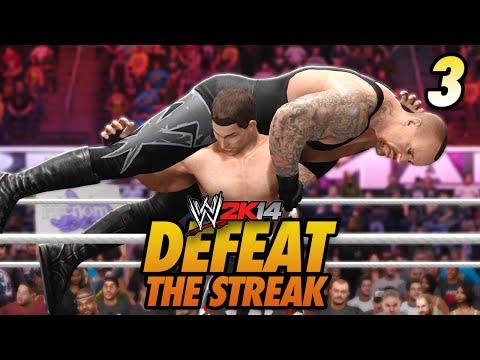 WWE 2K14 - Defeat The Streak w/ Chris Danger!! (Ep 3)