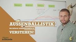 Ballistik - Die Außenballistik der Jagdbüchsen verstehen!
