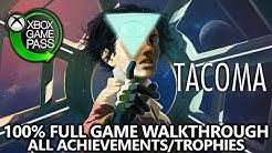 TACOMA - 100% Full Game Walkthrough - All Achievements - All AR Crew & Desktops, Locks, Wedding Ring