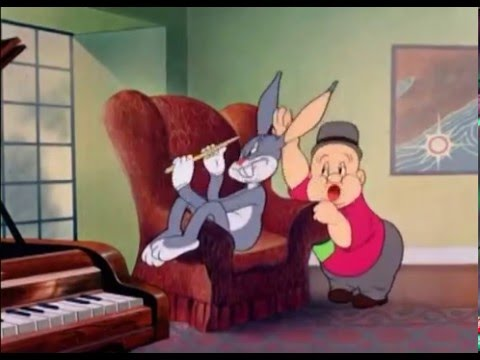 Bugs Bunny ft. Elmer Fudd - The Wabbit Who Came to Supper (1942) Classic Animated Cartoon