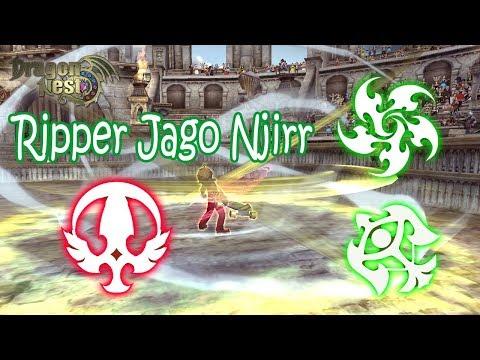 Ripper Jago Njirrr...Lunar Knight PVP Dragon Nest INA