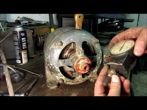 "Globe Tool & Engineering Co - Type 2009 ""Special Motor"" 2 repulsion motor"