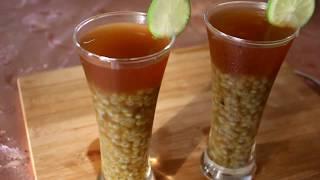 লেবু গুড়ের শরবত /ইফতার স্পেশাল/Lemon Molasses juice Ramadan Recipe