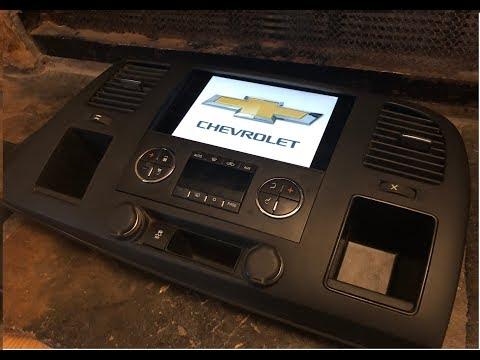 07 - 12 Chevrolet Silverado GMC Sierra Ipad Mini 2/ 3 / 4  Dash Kit Bezel