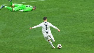 How Cristiano Ronaldo Disgraces Goalkeepers with his strikes
