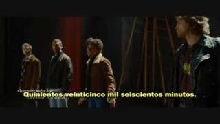 Season of love - Rent (subtitulado)