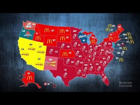 10 Maps that will change the way you see the World/U.S