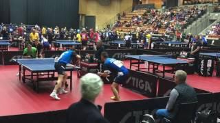 Men's Doubles EVC2017  semi final