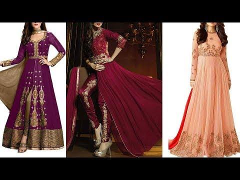Designer Party wear salwar kurti designs