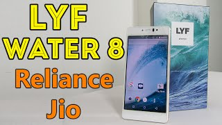 LYF Water 8 Unboxing Review With Free Reliance JIO 4G : Budget 4G VoLTE Android(, 2016-08-09T12:41:21.000Z)