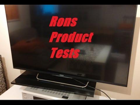 sony bravia kdl 50w805 b test review deutsch gaming. Black Bedroom Furniture Sets. Home Design Ideas