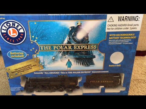 LIONEL &The Polar Express – G Gauge Train Christmas Toy Train / Toy Review in Action