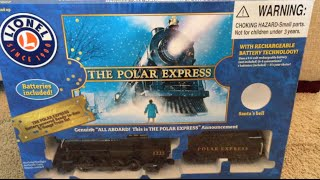"LIONEL ""The Polar Express - G Gauge Train"" Christmas Toy Train / Toy Review in Action"