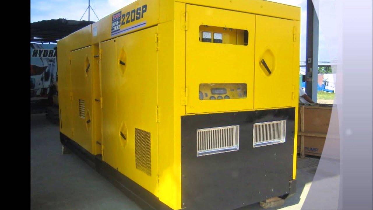 Denyo Generator Dca-220spm