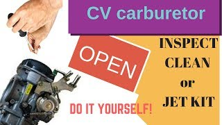 Harley Davidson CV Carburetor  Cleaning and inspecting AVOID MISTAKES!