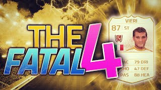 THE FINAL THE FATAL 4 w/ LEGEND VIERI FIFA 14 ULTIMATE TEAM