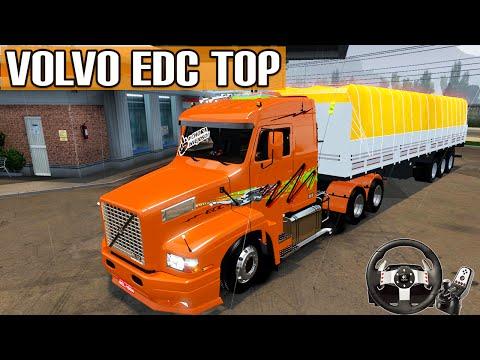 Euro Truck Simulator 2 - Mod Volvo EDC Show de Bola