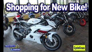 Shopping For a New Motorcycle | 2 EPIC Motorcycles to Choose From!