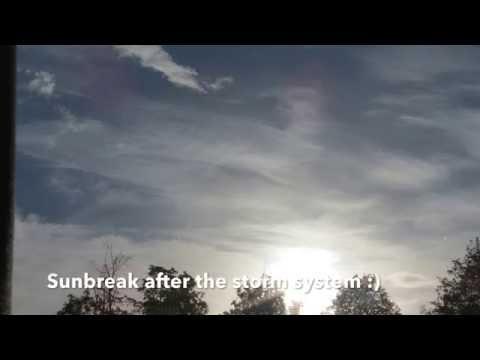 Rain Real and on Radar then a Sun Break in Reality