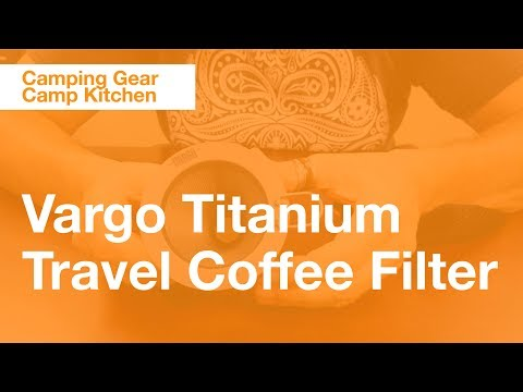 Vargo Titanium Travel Coffee Filter