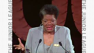 Maya Angelou - Rainbow in the Clouds - The Junior League Centennial Celebration 2001