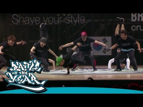 BOTY 2011  CASE  JINJO CREW KOREA  HD VERSION BOTY TV