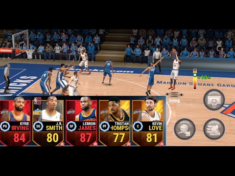 ALL CAVALIERS TEAM! Kyrie Irving SETS MSG ON FIRE! NBA LIVE Mobile Gameplay