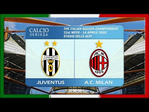Serie A 2001-02, Juve - AC Milan (Full, RU)