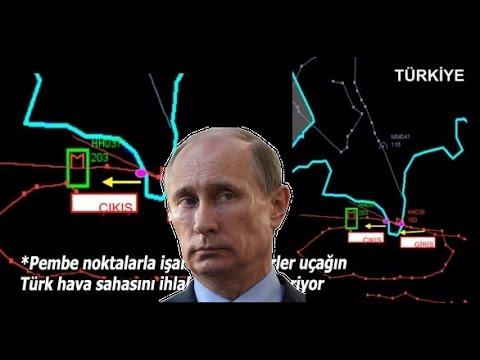 Turkey: Radar Flight Path of Downed Russian Jet - Proof Air Space Violation