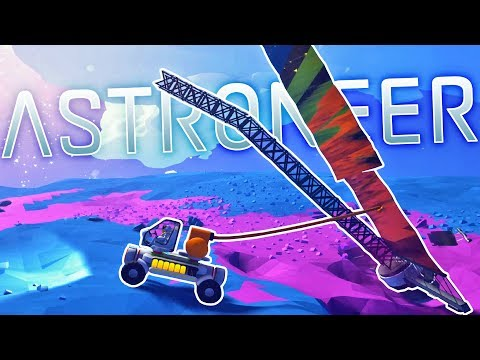 Astroneer - This Winch Is AMAZING - Space Crash Scavenging - Astroneer Gameplay Part 3